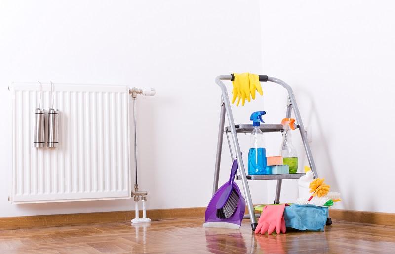 Limpieza de radiadores de gas natural