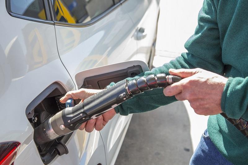 Repostando fácilmente con gas natural comprimido