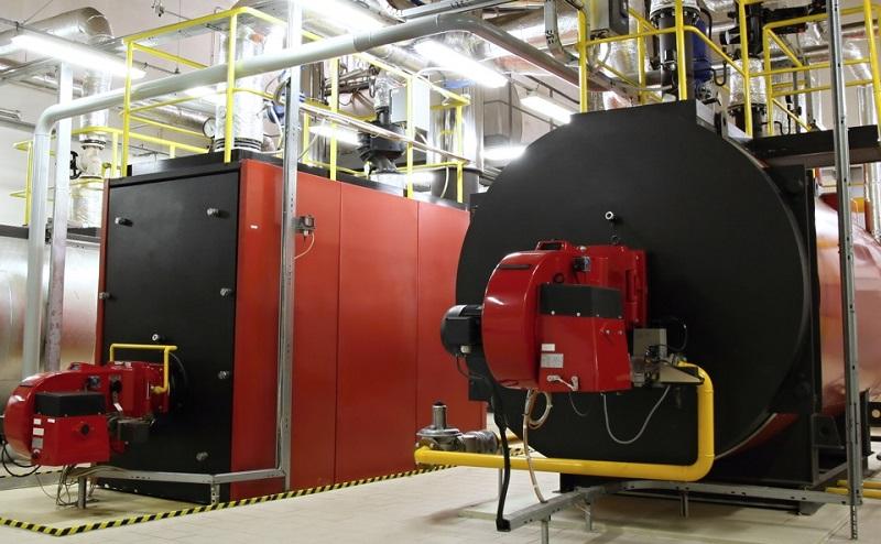 sala de calderas de gas natural
