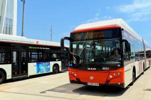 Autobús híbrido_ transporte