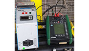 Verification of natural gas measuring equipment. Technical equipment