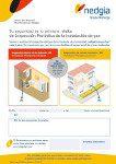 Cartel de aviso de inspección periódica