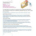 Carta de inspección periódica