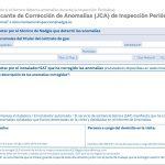 JUSTIFICANTE CORRECCIÓN ANOMALÍAS de gas natural