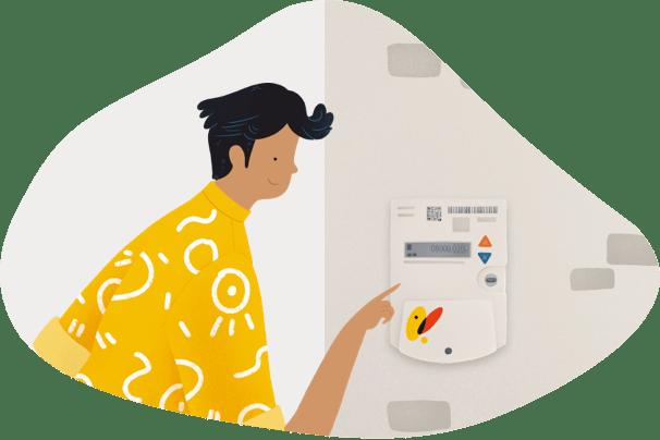 Contadores y servicios de medición gas natural