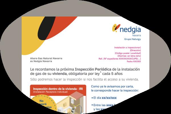 Carta inspección periódica segundo aviso