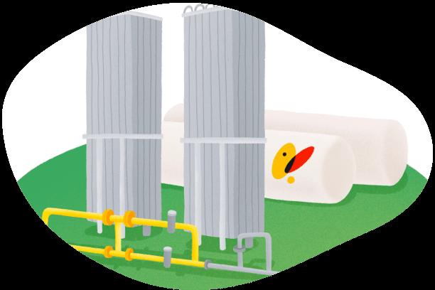 Oferta transformación de salas de calderas a gas natural