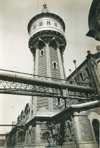 Torre del gas