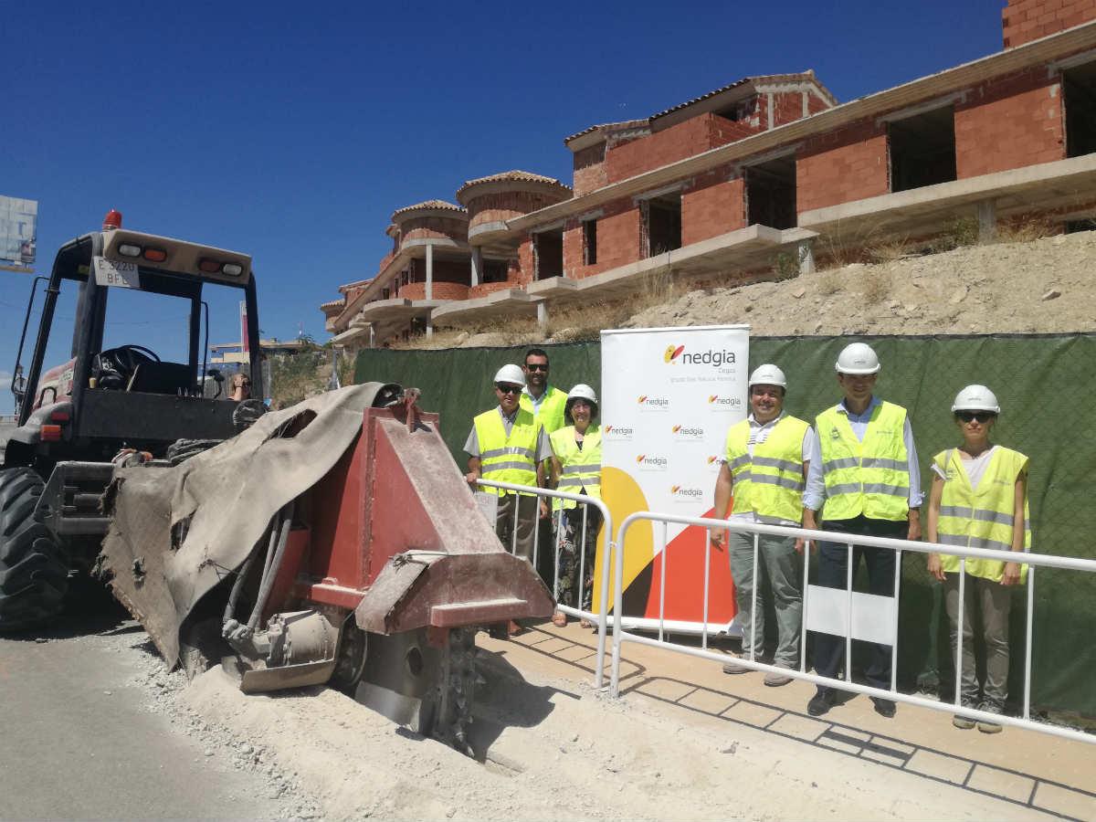 NEDGIA Cegas invierte más de 500.000 euros para llevar el gas natural a Finestrat