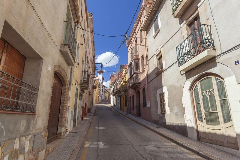 Calle de El Papiol (Barcelona)