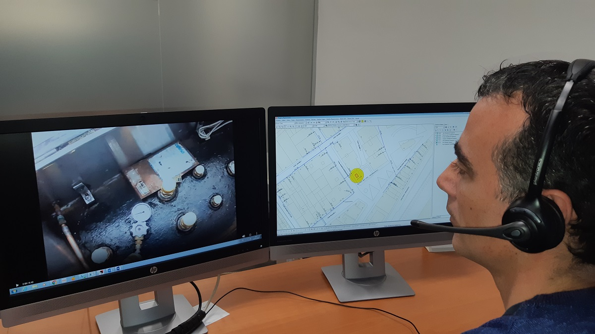 Remote monitoring technician