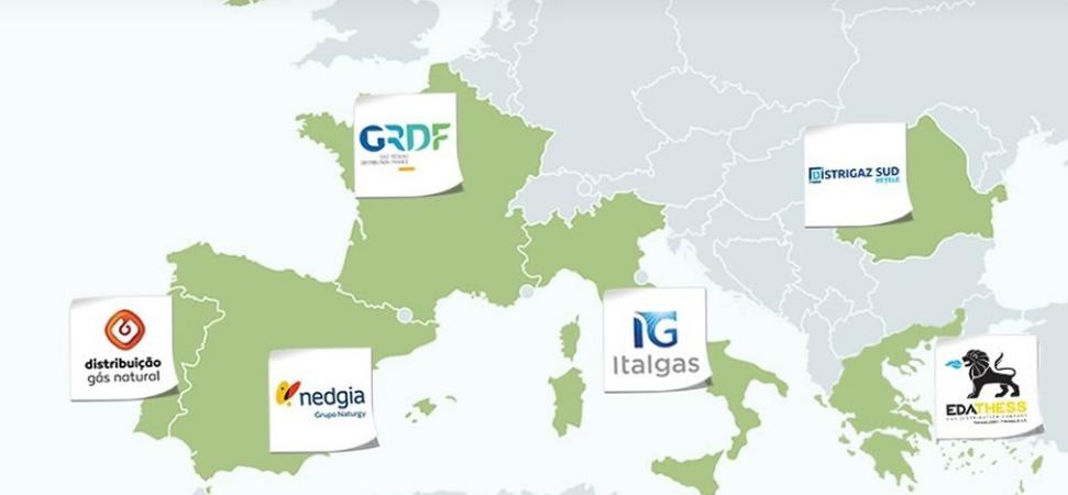 Mapa Europa presencia GD4S