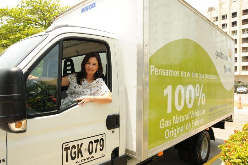 Gas natural vehicular para camiones