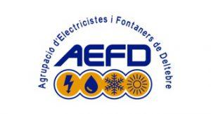 Logo agrupació electricistes i fontaners Deltebre