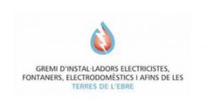 Logo Gremi d'instal·ladors, electricistes, fontaners, electrodomèstics i afins de les terres de l'Ebre