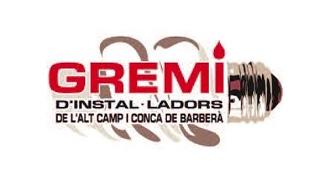 Logo gremi dinstal·ladors de calefacció i gas natural de l'Alt Camp i Conca de Barberá
