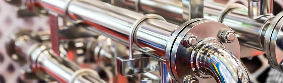 Imagen tubos gas natural industria