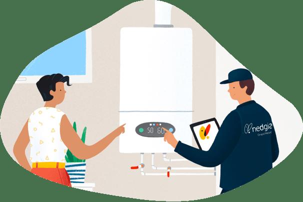 Oferta descentralización de salas de calderas