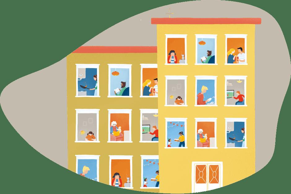 Edificis comunitat de propietaris