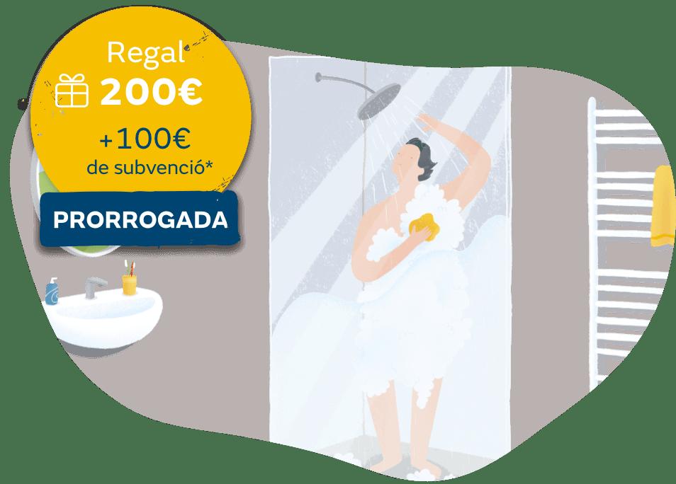 Oferta agua caliente con gas natural