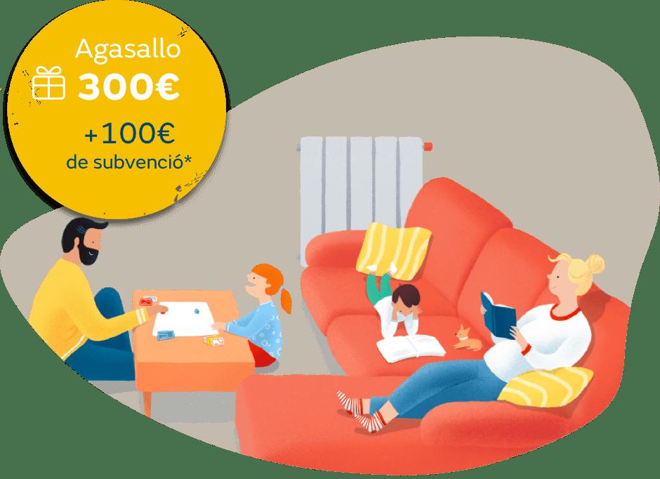 Oferta de instalación de gas natural para calefacción