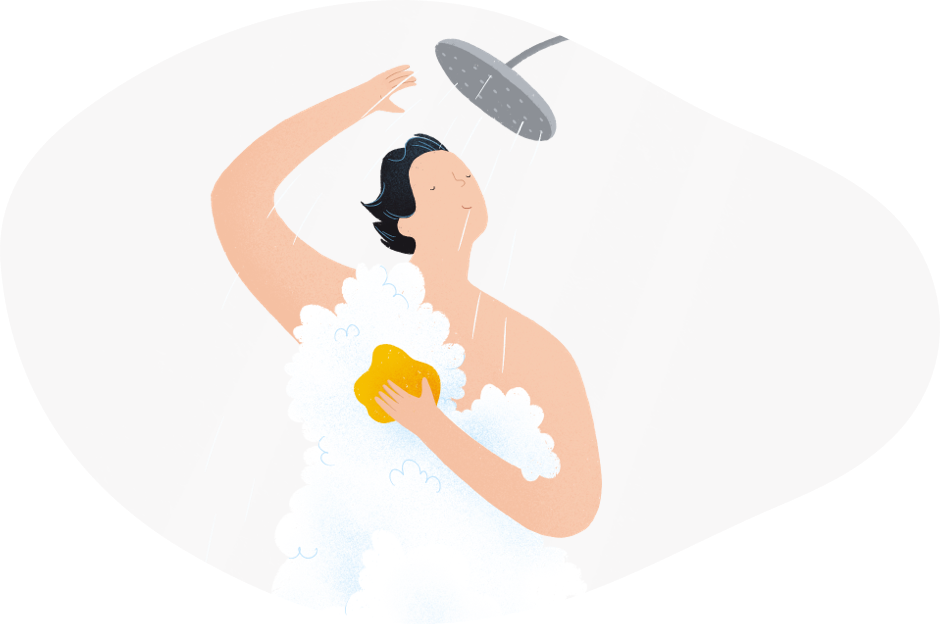 Ducha agua caliente ininterrumpida con gas natural