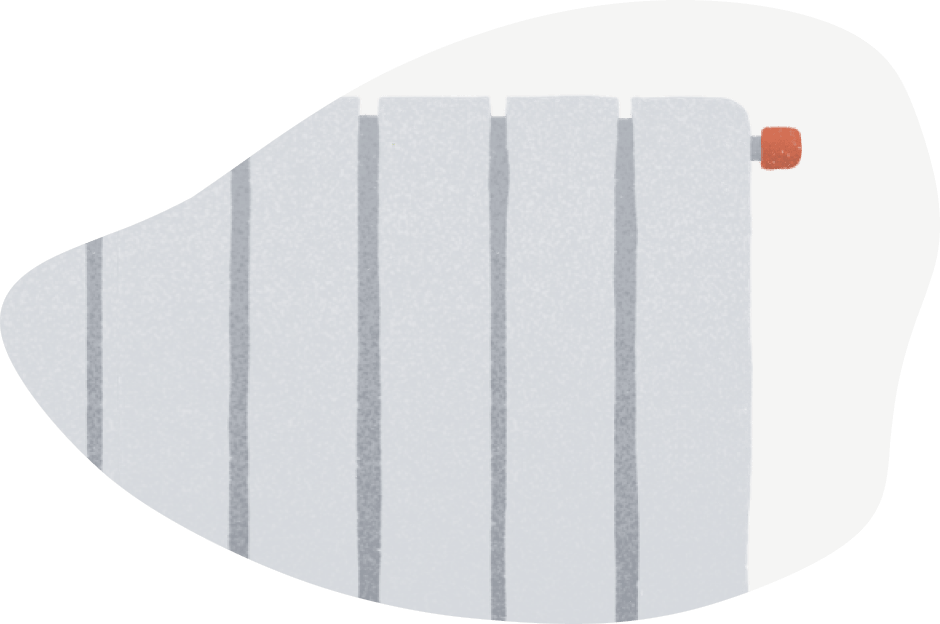 equipamiento radiador de gas natural