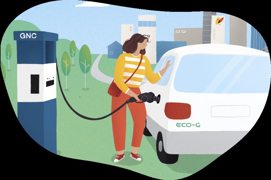 repostando gas natural