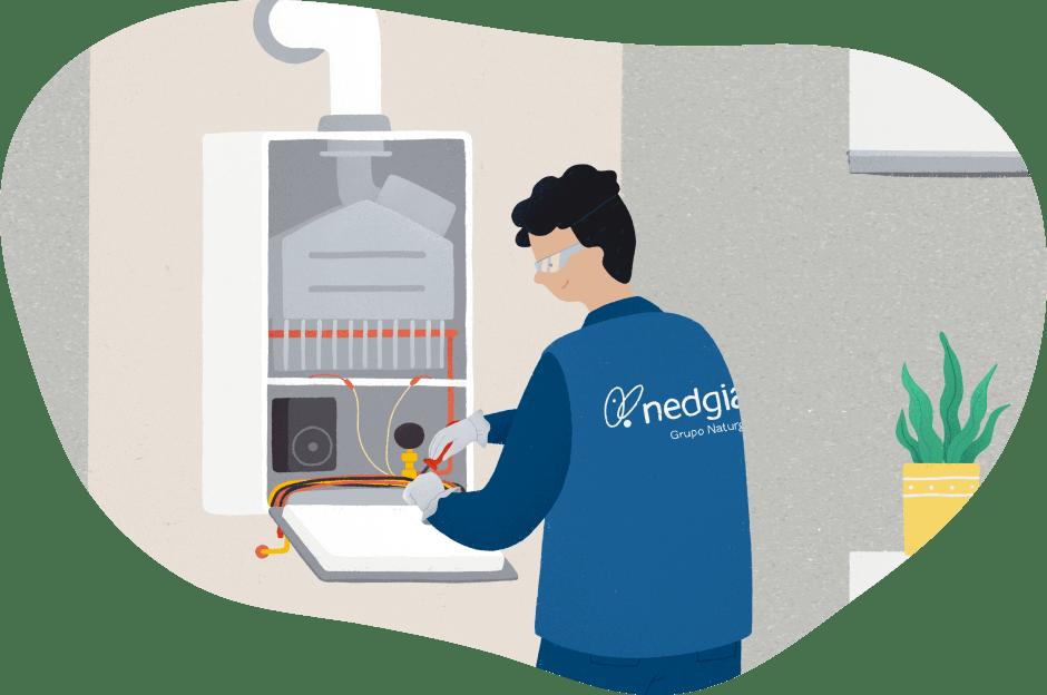 instalación de gas natural, fácil y segura