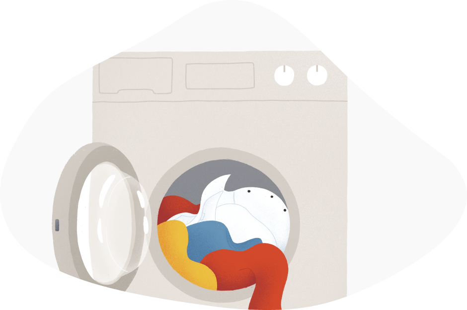 lavadora de gas natural