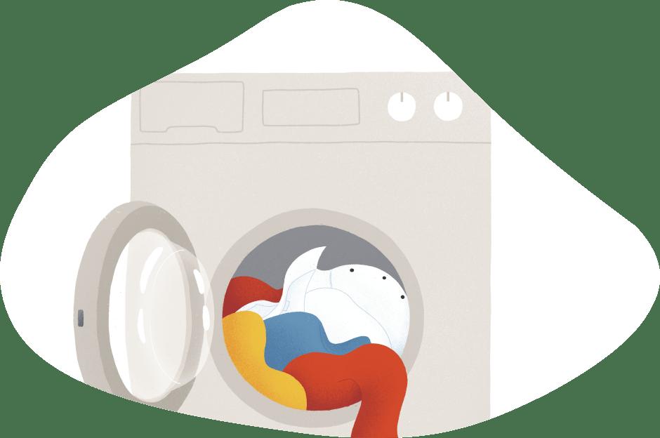 lavadora a gas natural