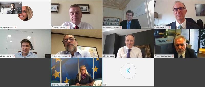 Nuestro CEO, junto con los de las principales distribuidoras de gas europeas, se reúne con la Comisaria de Energía de la UE