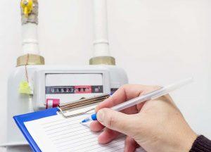 ¿Cómo funciona la lectura del contador de gas natural?