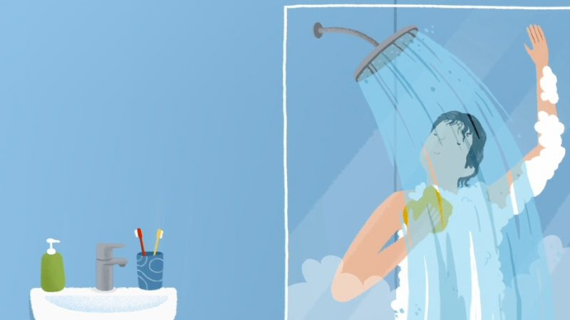 ¿Cuánto cuesta darse una ducha?